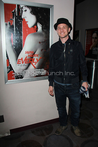 "BEVERLY HILLS, CA - FEBRUARY 28: Yuri Lowenthal at the ""Everly"" Opening Weekend Splatter-Ganza at Laemmle's Music Hall, Beverly Hills, California on February 28, 2015. Credit: David Edwards/DailyCeleb/MediaPunch"