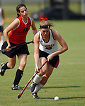 Kate Donnelly of St. Johns against St. Stephens Saturday Oct. 21,2006.(Dave Rossman/For the Chronicle)<br />