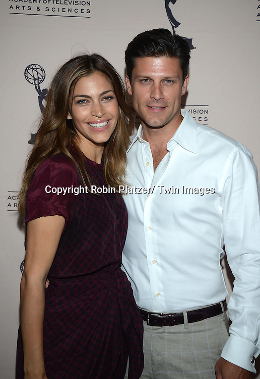 Greg Vaughn and wife attends the Academy Of Television Arts & Science Daytime Programming  Peer Group Celebration for the 40th Annual Daytime Emmy Awards Nominees party on June 13, 2013 at the Montage Beverly Hills in Beverly Hills, California.