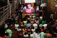 RIO DE JANEIRO, RJ, 16.09.2014, LINDBERG FARIAS FALA A LIDERANÇAS NEGRAS NO TEATRO ODISSÉIA ,LINDBERG FARIAS, Lindberg Farias fala no teatro odisséia para lideranças negras , na Lapa, centro do Rio de Janeiro,  nesta terça-feira, 16 (foto: Márcio Cassol/Brazil Photo Press)