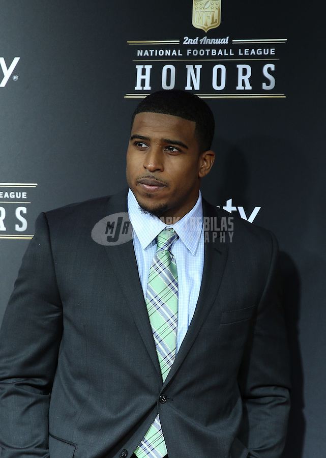 Feb. 2, 2013; New Orleans, LA, USA:  NFL player Bobby Wagner on the red carpet prior to the Super Bowl XLVII NFL Honors award show at Mahalia Jackson Theater. Mandatory Credit: Mark J. Rebilas-USA TODAY Sports