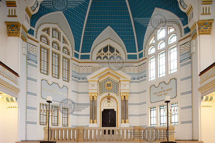 The synagogue on Pava street in Budapest.