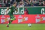15.04.2018, Weser Stadion, Bremen, GER, 1.FBL, Werder Bremen vs RB Leibzig, im Bild<br /> <br /> Thomas Delaney (Werder Bremen #6)<br /> <br /> Foto &copy; nordphoto / Kokenge
