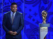 25.07.2015. St Petersburg, Russia.  Former Brazilian national player Ronaldo attends the Preliminary Draw of the FIFA World Cup 2018 in St. Petersburg, Russia, 25 July 2015. St. Petersburg is one of the host cities of the FIFA World Cup 2018 in Russia which will take place from 14 June until 15 July 2018.