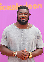 LOS ANGELES, CA July 13- Landon Collins, At Nickelodeon Kids' Choice Sports Awards 2017 at The Pauley Pavilion, California on July 13, 2017. Credit: Faye Sadou/MediaPunch