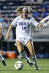 14 August 2014: Duke's Kara Wilson. The Duke University Blue Devils hosted the University of South Carolina Gamecocks at Koskinen Stadium in Durham, NC in a 2014 NCAA Division I Women's Soccer preseason match. Duke won the exhibition 2-0.