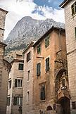 MONTENEGRO, Bay of Kotor, Mountains above Old Town Kotor, Ben M Thomas