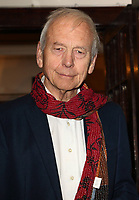 John Humphrys at the Oslo Gala Night at the Harold Pinter Theatre, Panton Street, London on October 11th 2017<br /> CAP/ROS<br /> &copy; Steve Ross/Capital Pictures