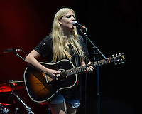 WEST PALM BEACH, FL - AUGUST 06: Holly Williams performs at The Perfect Vodka Amphitheater on August 6, 2016 in West Palm Beach Florida. Credit: mpi04/MediaPunch