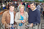 Pictured at Killarney Races on Monday, from left: Eugene O'Brien (Listellick), Mary McQuinn (Tralee) and Pat Joe McQuinn (Tralee)..