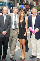 NEW YORK, NY - JULY 31: Maria Menounos celebrates Crocs Tenth Anniversary by ringing the NASDAQ bell at 4 Times Square on July 31, 2012 in New York City. Credit: mpi44/MediaPunch Inc. /NortePhoto.com<br />