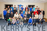 St Marys GAA held a medal presentation in the Club House on Thursday 29th December with presentations for the South Kerry Minor League, All Ireland Club Intermediate Championship, South Kerry Senior League & Championship, pictured here players, management and sponsors.