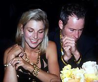 Tatum Oneal John McEnroe 1992<br /> Photo By John Barrett/PHOTOlink