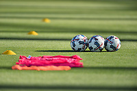 San Jose, CA - Monday July 10, 2017: Balls prior to a U.S. Open Cup quarterfinal match between the San Jose Earthquakes and the Los Angeles Galaxy at Avaya Stadium.