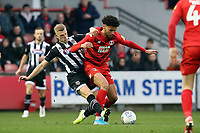 O's Lee Angol & Jake Hessenthaler during Leyton Orient vs Grimsby Town, Sky Bet EFL League 2 Football at The Breyer Group Stadium on 11th January 2020