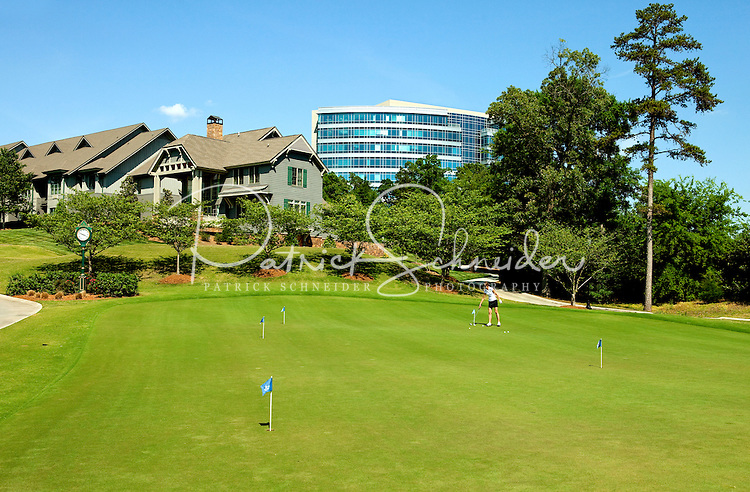 Photos of the Ballantyne Hotel and Lodge in Charlotte, North Carolina. The Golf Club at Ballantyne is a championship PGA public golf course.