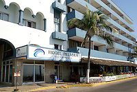 The Hotel Belmar on Paseo Olas Altas in Old Mazatlan, Sinaloa, Mexico