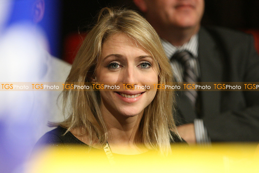 Strictly Come Dancing contestant Ali Bastian is seen ringside during Prizefighter 'The Light-Welterweights' at Olympia National Hall, London, promoted by Barry Hearn / Matchroom Sport - 04/12/09 - MANDATORY CREDIT: Gavin Ellis/TGSPHOTO - Self billing applies where appropriate - Tel: 0845 094 6026