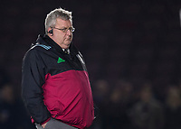 Harlequins' Head Coach John Kingston<br /> <br /> Photographer Bob Bradford/CameraSport<br /> <br /> European Rugby Challenge Cup - Harlequins v Wasps - Sunday 13th January 2018 - Twickenham Stoop - London<br /> <br /> World Copyright &copy; 2018 CameraSport. All rights reserved. 43 Linden Ave. Countesthorpe. Leicester. England. LE8 5PG - Tel: +44 (0) 116 277 4147 - admin@camerasport.com - www.camerasport.com