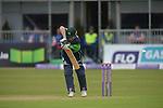 Ireland v England Cricket One Day International held at Malahide Cricket Club, Dublin, Ireland. 8th May 2015.<br /> Photo: Joe Curtis/www.newsfile.ie