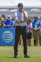 Jimmy Walker (USA) looks over his tee shot on 2 during round 1 of the AT&T Byron Nelson, Trinity Forest Golf Club, at Dallas, Texas, USA. 5/17/2018.<br /> Picture: Golffile | Ken Murray<br /> <br /> <br /> All photo usage must carry mandatory copyright credit (© Golffile | Ken Murray)