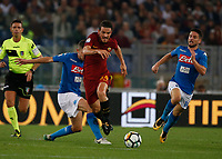 Konstantinos Manolas  during the  italian serie a soccer match, AS Roma -  SSC Napoli       at  the Stadio Olimpico in Rome  Italy , 14 ottobre 2017