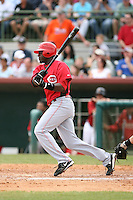 March 22nd 2008:  Brandon Phillips of the Cincinnati Reds during a Spring Training game at Osceola County Stadium in Kissimmee, FL.  Photo by:  Mike Janes/Four Seam Images