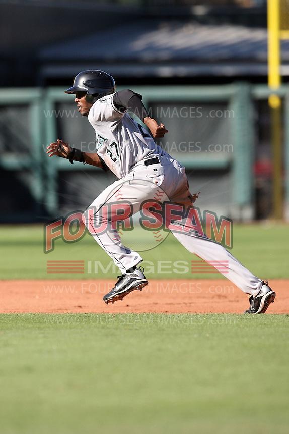 Greg Burns - Mesa Solar Sox, 2009 Arizona Fall League.Photo by:  Bill Mitchell/Four Seam Images..
