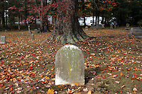 Old graveyard in Charlottesville, VA.