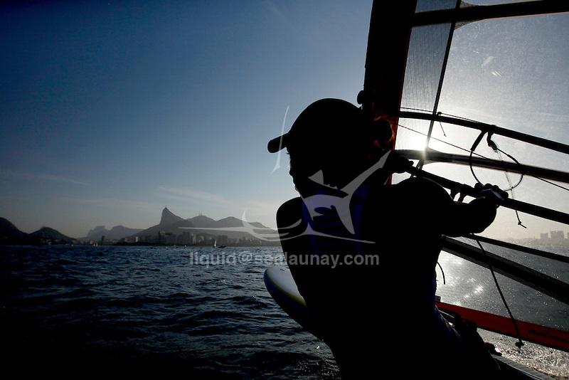 Rio de Janeiro Olympic Test Event - Fédération Française de Voile. RSX Women, Charline Picon.