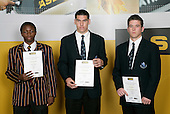Soccer Boys Finalists. ASB College Sport Young Sportsperson of the Year Awards 2006, held at Eden Park on Thursday 16th of November 2006.<br />