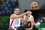 Kaan Dalay (TUR), <br /> SEPTEMBER 8, 2016 - Wheelchair Basketball : <br /> Preliminary Round Group A<br /> match between Turkey 65-49 Japan<br /> at Carioca Arena 1<br /> during the Rio 2016 Paralympic Games in Rio de Janeiro, Brazil.<br /> (Photo by AFLO SPORT)