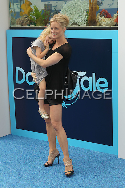 "BAYLEY WOLLAM, TERI POLO. World Premiere of Alcon Entertainment's ""Dolphin Tale,"" at the Village Theatre in Westwood. Los Angeles, CA, USA. September 17, 2011. ©CelphImage."