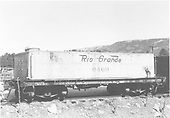 End side view of water car #0469 (ex Unitah Railroad).<br /> D&amp;RGW