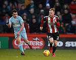 Mark Duffy of Sheffield Utd during the Championship match at Bramall Lane Stadium, Sheffield. Picture date 26th December 2017. Picture credit should read: Simon Bellis/Sportimage