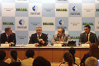 BRASÍLIA, DF 05 DE MARÇO 2013 - COLETIVA COM O MINISTRO DA SAÚDE ALEXANDRE PADILHA.  O ministro da saúde Alexandre Padilha concedeu entrevista coletva para imprensa para falar dos planos de saúde nesta manhã de terça feira (05).FOTO: RONALDO BRANDÃO/BRAZIL PHOTO PRESS