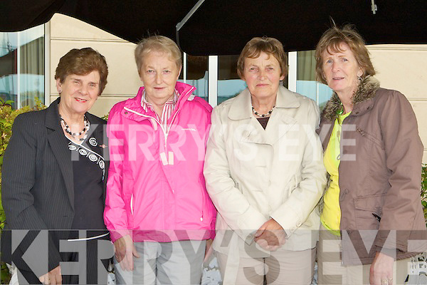 Joan O'Connor Beaufort, Kathleen O'Donoghue, Sheila Casey and Barbara Brennan at the Senior Citizens information function in the Dromhall Hotel Killarney on Friday.