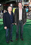 """WESTWOOD, CA. - October 26: Director/Writers Eric Darnell and Tom McGrath  arrive at the premiere of Dreamworks' """"Madagascar: Escape 2 Africa"""" at the Mann Village Theater on October 26, 2008 in Los Angeles, California."""
