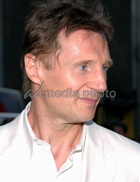 12 May 2005 - New York, New York - Liam Neeson arrives at the premiere of &quot;Star Wars II Revenge of the Sith&quot; at the Ziegfeld Theater in Manhattan.<br />