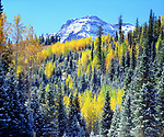 USA, Colorado, Rocky Mountains, Autumn in the Rockies