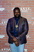 "LOS ANGELES - FEB 19:  Brian Tyree Henry at the ""tlanta Robbin"" LA Premiere Screening at the Theatre at Ace Hotel on February 19, 2018 in Los Angeles, CA"