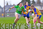 Deirdre Corridan for the Kerry ladies team that played Clare last Saturday afternoon in Listowel.