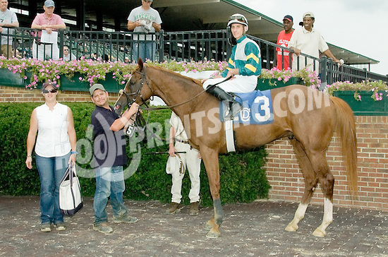 Dr. Skip winning (before being DQ'd and placed 2nd) at Delaware Park on 9/5/11.