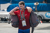 AR_07302016_RIO_HOUSTON_0069.ARW  © Amory Ross / US Sailing Team.  HOUSTON - TEXAS- USA. July 30, 2016. The US Sailing Team moves their boats and equipment from Niteroi, the training center for the past three years, across Guanabara Bay to the new Olympic sailing venue in Rio de Janeiro.