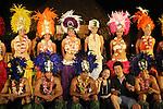 French Polynesia Tahiti polynesian vahine dancers