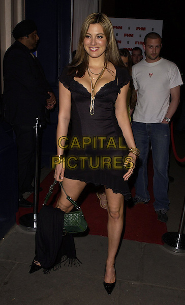 CATHERINE McQUEEN.The FHM 100 Sexiest Women In The World Party 2006 at Madame Tussauds, London, UK. .May 3rd, 2006.Ref: CAN.full length black dress.www.capitalpictures.com.sales@capitalpictures.com.©Capital Pictures
