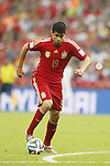 Diego Costa (ESP), JUNE 18, 2014 - Football / Soccer : FIFA World Cup Brazil<br /> match between Spain and Chile at the Maracana Stadium in Rio de Janeiro, Brazil. (Photo by AFLO)