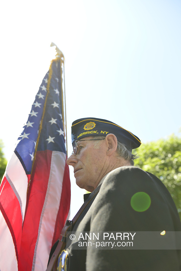 Community organizations and families come to march in, and watch, the Annual Memorial Day Parade 2013, hosted by American Legion Merrick Post No. 1282, with ceremony at Merrick Veteran Memorial Park.