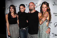 Todd Weinberger and guests attend Inked Magazine release party celebrating August issue, New York. July 17, 2012 © Diego Corredor/MediaPunch Inc.