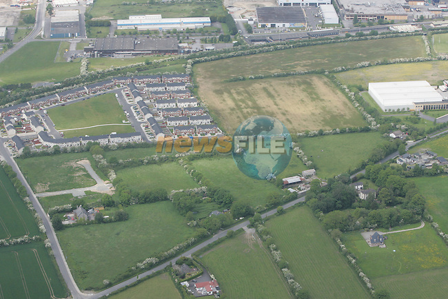 Aerial view of the Duleek Rd and Knockbrack Rd. 04/06/06...Photo NEWSFILE/Fran Caffrey.(Photo credit should read Fran Caffrey/NEWSFILE)....This Picture has been sent you under the condtions enclosed by:.Newsfile Ltd..The Studio,.Millmount Abbey,.Drogheda,.Co Meath..Ireland..Tel: +353(0)41-9871240.Fax: +353(0)41-9871260.GSM: +353(0)86-2500958.email: pictures@newsfile.ie.www.newsfile.ie.FTP: 193.120.102.198...This picture is from Fran Caffrey@newsfile.ie